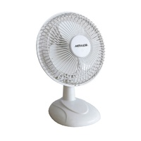 Heller 15Cm White Desk Fan HHDF15S