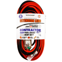 ULTRACHARGE EXTRA HEAVY DUTY CONTRACTOR LEAD 20M 15A