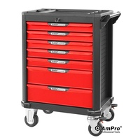 Ampro 7 Drawer Rolling Wagon T47047